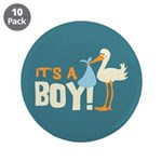 "It's a Boy 3.5"" Button (10 pack)"