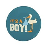"It's a Boy 3.5"" Button (100 pack)"