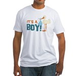 It's a Boy Fitted T-Shirt