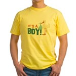 It's a Boy Yellow T-Shirt