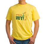 It's a Boy Yellow T-Shirt
