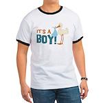 It's a Boy Ringer T