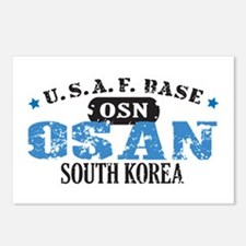 Osan Air Force Base Postcards (Package of 8)