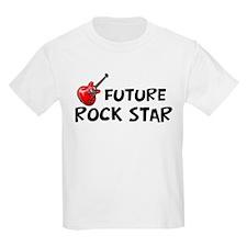 Future Rockstar with guitar-surfer print T-Shirt