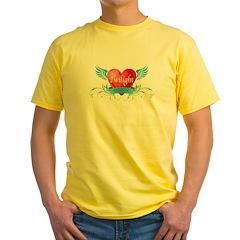 Twilight girl Yellow T-Shirt