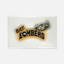 2009 Bay Bombers Rectangle Magnet