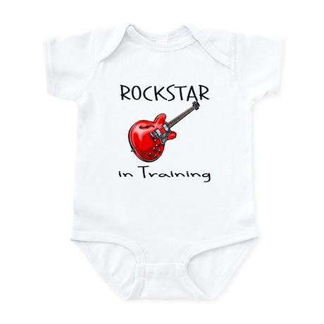 Rockstar in Training 1 Infant Bodysuit
