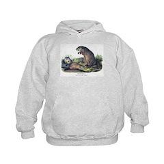 Audubon Woodchuck Groundhog Hoodie