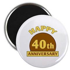 40th Wedding Anniversary 2.25