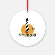 Cape Fear Coast NC Ornament (Round)