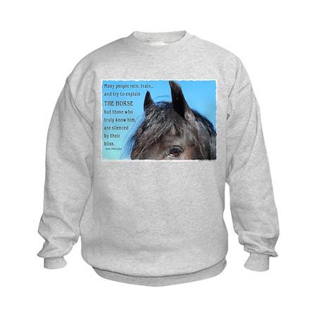 Friesian Bliss Kids Sweatshirt