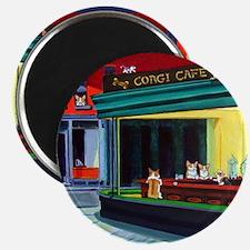 "Corgi Cafe 2.25"" Magnet (10 pack)"