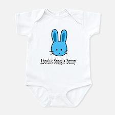 Abuela's Snuggle Bunny (Blue) Infant Bodysuit
