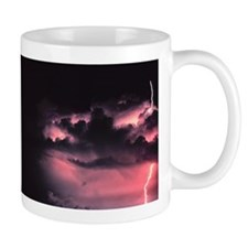 purple lighting Mug