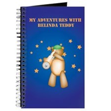 My Adventures With Belinda Teddy Notebook