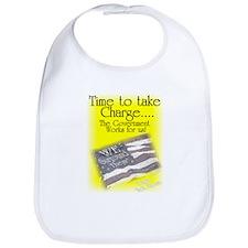Time To Take Charge Bib
