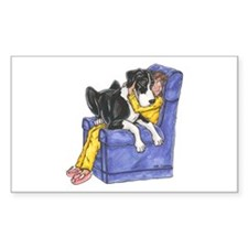 NMtl Chair Hug Rectangle Decal
