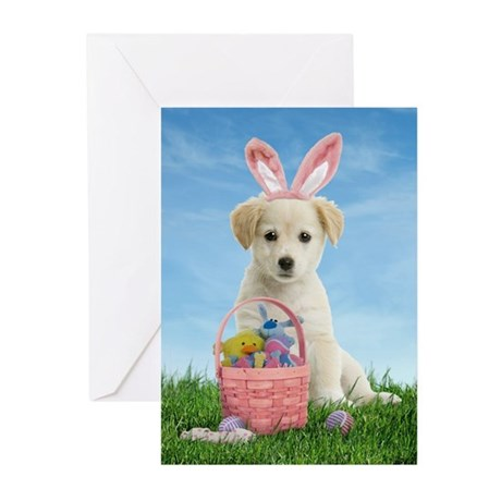 Easter Puppy Greeting Cards (Pk of 10)