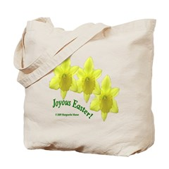 Easter Daffodil Trio Tote Bag
