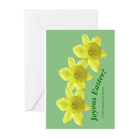 Easter Daffodil Trio Greeting Cards (Pk of 20)