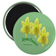 Easter Daffodil Trio 2.25