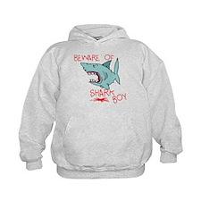 Beware Of Shark Boy Hoodie