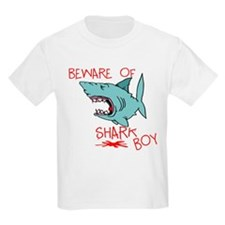 Beware Of Shark Boy T-Shirt