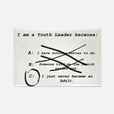 I Am a Youth Leader Magnets