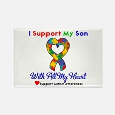Autism ISupportMy Son Rectangle Magnet