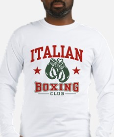 Italian Boxing Long Sleeve T-Shirt
