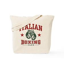 Italian Boxing Tote Bag