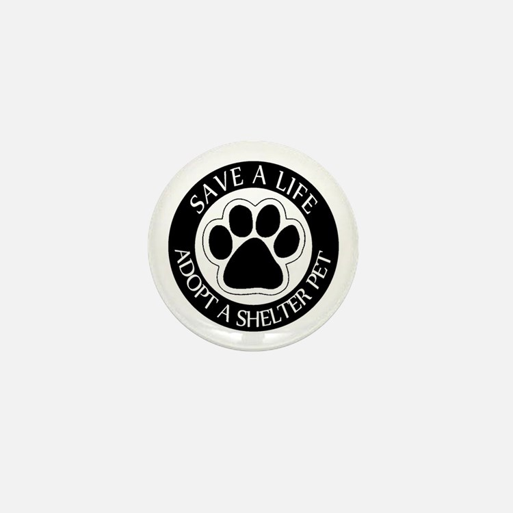 Adopt a Shelter Pet Mini Button (10 pack)