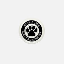Adopt a Shelter Pet Mini Button