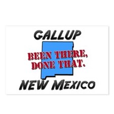 gallup new mexico - been there, done that Postcard