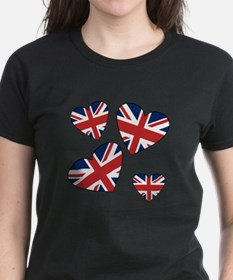 Four British Hearts Tee