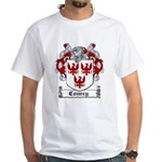 Courcy Coat of Arms White T-Shirt