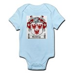 Courcy Coat of Arms Infant Creeper