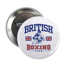 "British Boxing 2.25"" Button"