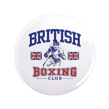 "British Boxing 3.5"" Button"