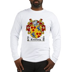 Courtney Coat of Arms Long Sleeve T-Shirt