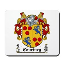 Courtney Coat of Arms Mousepad