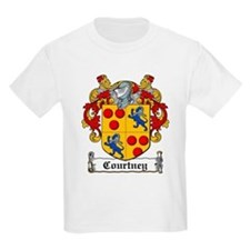 Courtney Coat of Arms Kids T-Shirt