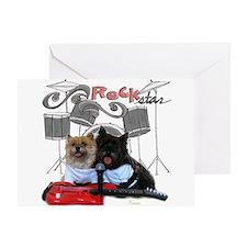 Rockin' Cairn Terrier Greeting Card