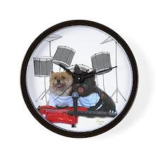 Rockin' Cairn Terrier Wall Clock