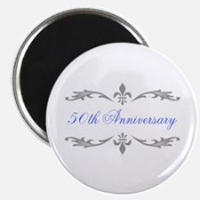 "50th Wedding Anniversary 2.25"" Magnet (10 pack)"