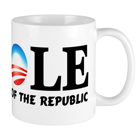 """A-Hole: Barack Obama"" Mug"