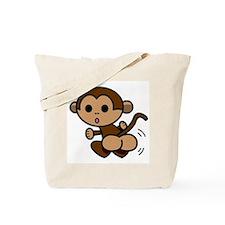 Monkey Shake Tote Bag
