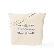 35th Wedding Anniversary Tote Bag