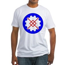 Innilgard populace Fitted T-Shirt