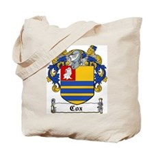 Cox Coat of Arms Tote Bag